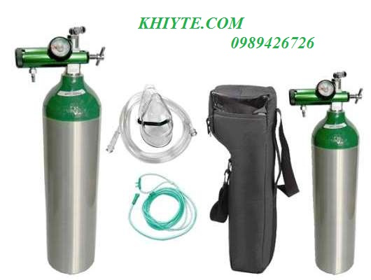 Bộ bình thở oxy, bộ bình oxy y tế