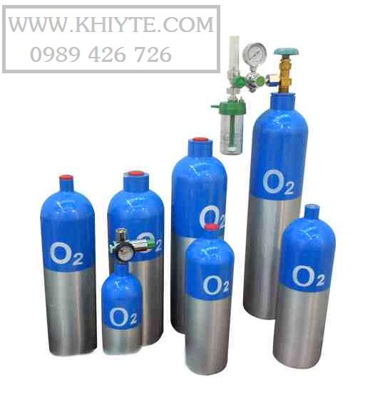 Bình oxy y tế cá nhân, bình oxy cấp cứu bệnh nhân
