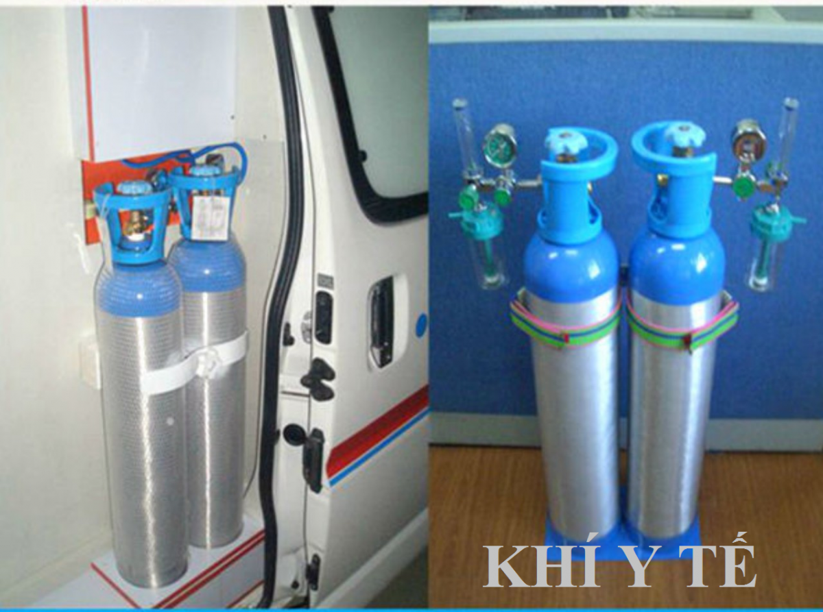 bình khí oxy mini