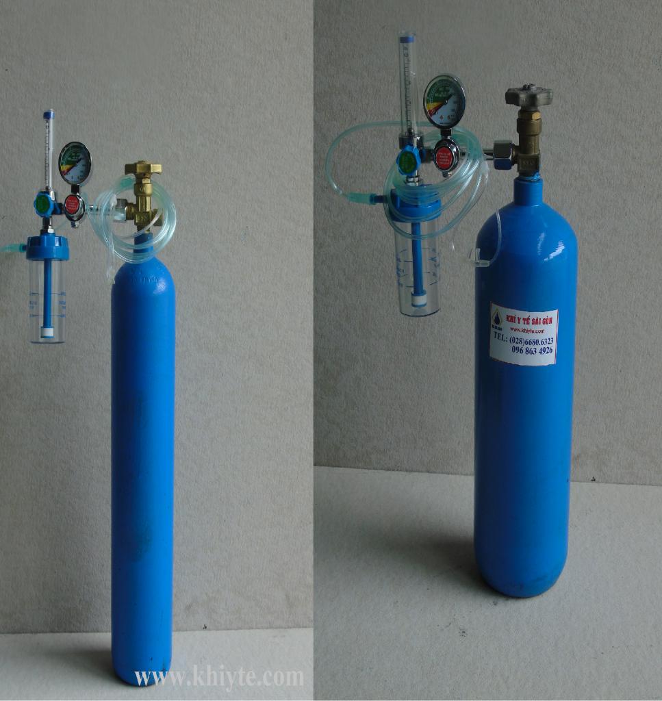 bình khí oxy thở mini _ 2