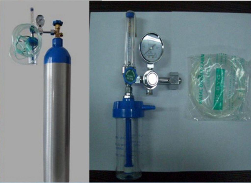bình oxy y tế mini 2
