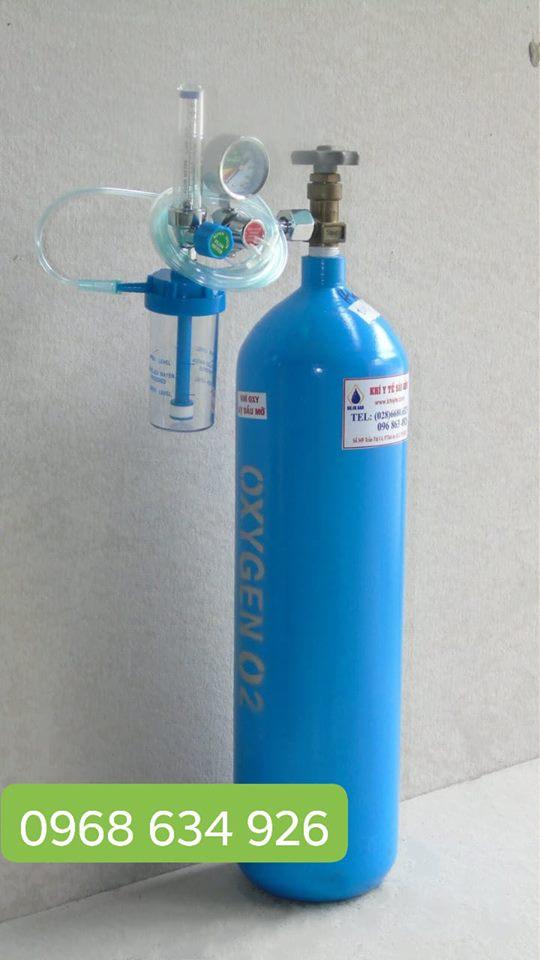 Bình Oxy y tế 7.5L