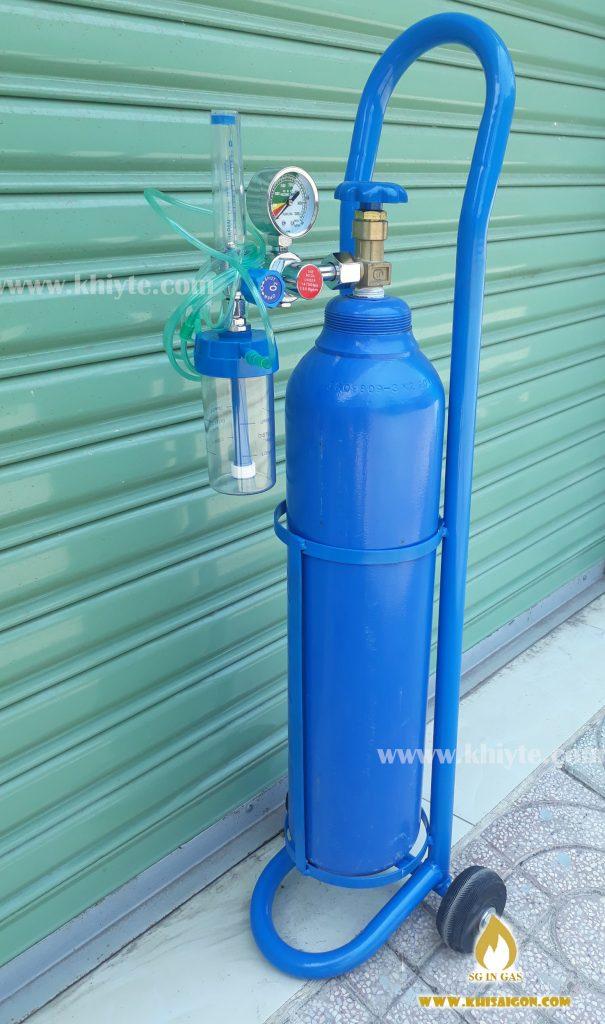 Cung cấp khí oxy y tế tại nhà
