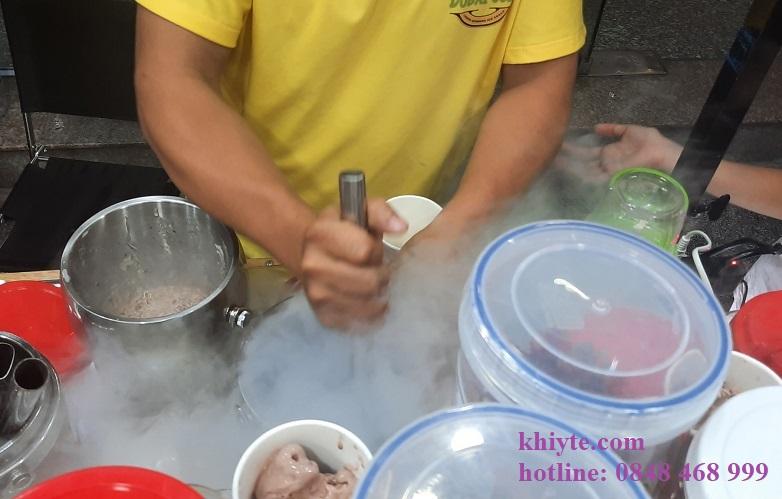 Hướng dẫn làm kem khói siêu tốc